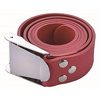 [해외]TECNOMAR Rubber Belt Inox Buckle Red