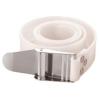 [해외]TECNOMAR Rubber Belt Inox Buckle White