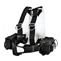 [해외]XDEEP Tecal Harness Dir With Backplate Aluminium
