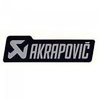 [해외]아크라포빅 머플러 Sticker Mono Logo Black / Silver
