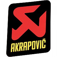 [해외]아크라포빅 머플러 Sticker 버티컬 Logo