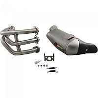 [해외]아크라포빅 머플러 Exhaust Racing Stainless Steel&Titanium Niken Silver
