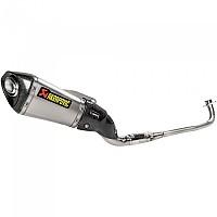 [해외]아크라포빅 머플러 Exhaust Racing Titanium MSX/Grom Silver / Black