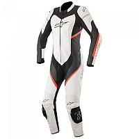[해외]알파인스타 Stella Kira Leather Suit 9136867541 Black White Red Fluo
