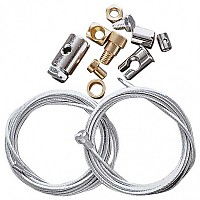 [해외]HASHIRU Browden Cable Repair Set 9136432720 Silver