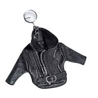 [해외]HELD Key Rings In Jacket Style Black