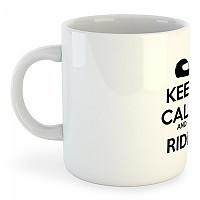 [해외]KRUSKIS Mug Keep Calm And 라이드 White