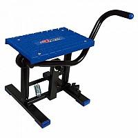 [해외]RTECH Foot Lift Bike Stand With Cross TPU Plate Blue