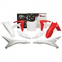 [해외]RTECH Plastics Kit Honda CRF 250 R/450 R 2019 White / Red