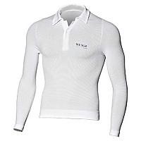 [해외]SIXS L/S Polo 셔츠 White