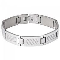 [해외]SPIRIT MOTORS Stainless 스틸 Bracelet 2 0 Silver