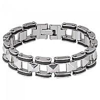 [해외]SPIRIT MOTORS Stainless Steel Bracelet 3 0 Silver