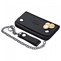 [해외]SPIRIT MOTORS Leather Wallet With Chain