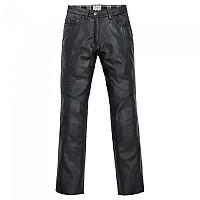[해외]SPIRIT MOTORS Leather Jeans 1 0 Black