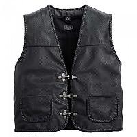 [해외]SPIRIT MOTORS Perforated Leather Vest 1 0 9136436468 Black