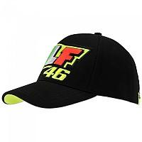 [해외]VR46 Race Cap Classic Black