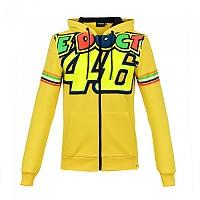 [해외]VR46 Stripes Fleece Full Zip Hoodie Classic Yellow