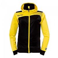 [해외]켐파 Emotion Hood Jacket 31268051 Black / Cornyellow