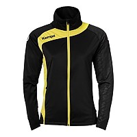 [해외]켐파 Peak Multi Jacket Woman Black / Lime Yellow