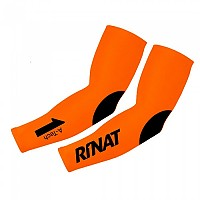 [해외]리낫 A-테크 Compression Sleeve Orange / Black