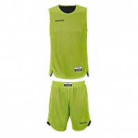 [해외]스팔딩 Doubleface Kids Set Junior Flash Green / Black