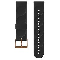 [해외]순토 Urban 1 Silicone 20mm S Strap Black / Copper