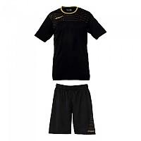 [해외]울스포츠 Match Team Kit Shirt&Shorts Ss Women 3136005962 Black / Gold