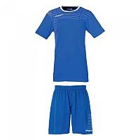 [해외]울스포츠 Match Team Kit Shirt&Shorts Ss Women Azurblue / White