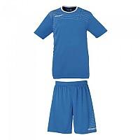 [해외]울스포츠 Match Team Kit Shirt&Shorts Ss Women Cyan / White