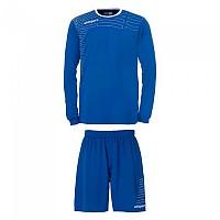 [해외]울스포츠 Match Team Kit Shirt&Shorts Ls Women Azurblue / White