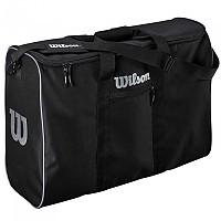 [해외]윌슨 6 Ball Travel Bag 3137093408 Black / Silver