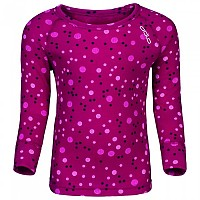 [해외]오들로 Shirt L/S Crew Neck Warm Trend Small Sangria / Allover Print