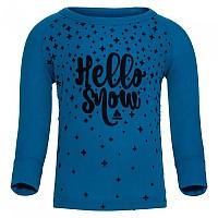 [해외]오들로 Warm Trend Small Shirt L/S Crew Neck Mykonos Blue