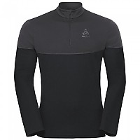 [해외]오들로 Core Light 1/2 Zip Black / Odlo Graphite Grey