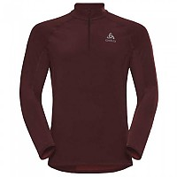 [해외]오들로 Zeroweight Warm 1/2 Zip Syrah