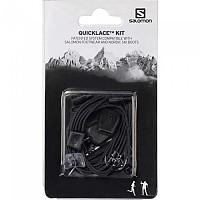 [해외]살로몬 Quicklace Kit Black