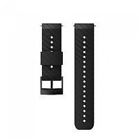 [해외]순토 Athletic 3 Silicone Strap Black / Steel