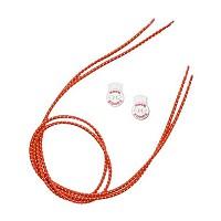 [해외]ZONE3 Elastic Laces Red
