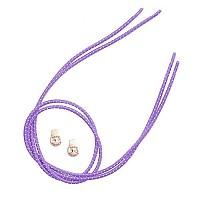 [해외]ZONE3 Elastic Laces Purple