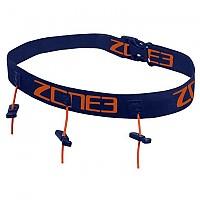 [해외]ZONE3 Race Belt With Gel Loops Navy / Orange