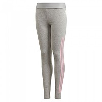 [해외]아디다스 Must Have 3 Stripes Medium Grey Heather / True Pink
