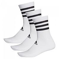 [해외]아디다스 3 Stripes Cushion Crew 3 Pair White / White / White