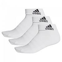 [해외]아디다스 Cushion Ankle 3 Pair White / White / White