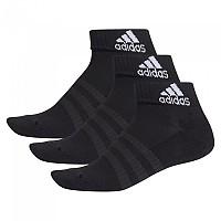 [해외]아디다스 Cushion Ankle 3 Pair Black / Black / Black