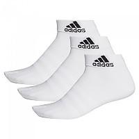 [해외]아디다스 Light Ankle 3 Pair White / White / White