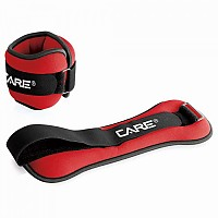[해외]CARE Wrist Ankle Weight Ajustable Black / Red