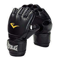 [해외]에버라스트 EQUIPMENT Leather Grappling Gloves Black