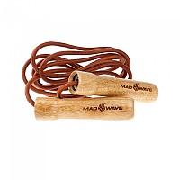 [해외]매드웨이브 Wooden Skip Rope with Leather Cord Brown