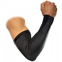 [해외]맥데이비드 X-Fitness Dual Layer Compression Arm Sleeves Black