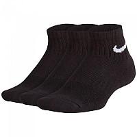 [해외]나이키 Everyday Ankle Cushion 3 Pair Black / White
